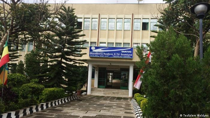 Äthiopien Adama - Oromia TV headquarter