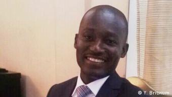 Yaw Britwum Opoku is gold programme manager in West Africa for international network organization Solidaridad (Y. Britwum)