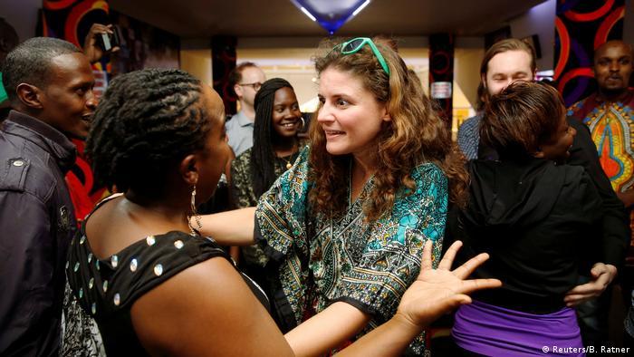 Kenia Nairobi - Katja Benrath Regisseurin von Watu Wote: All of us freut sich über Ihre Oscar Nominierung