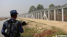 Myanmar Sammellager für zurückkehrende Rohingya