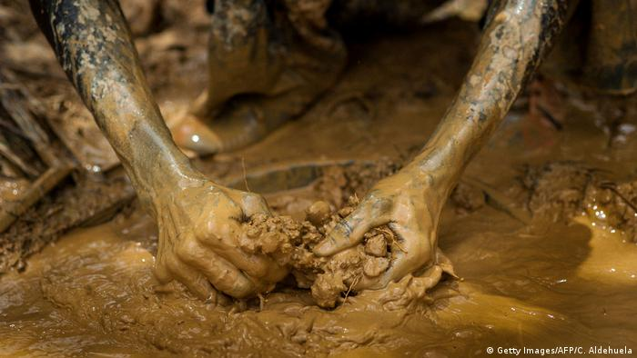 DW eco@africa - gold mining in Ghana (Getty Images/AFP/C. Aldehuela)