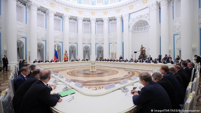 Встреча президента Владимира Путина с лидерами российского бизнеса, 21 декабря