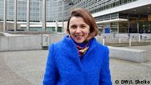 26.01.2018 Natalija Mykolska, Handelsbeauftragte und stellvertretende Wirtschaftsministerin der Ukraine.