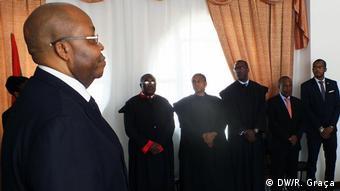 Sao Tome und Principe gewählte Richterräte für das Verfassungsgericht