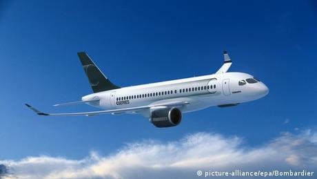 Bombardier CS100 (picture-alliance/epa/Bombardier)