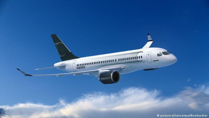 Bombardier CS100 (picture-alliance/epa/Bombardier)