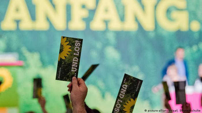 Hannover Bundesdelegiertenkonferenz Bündnis 90/Die Grünen (picture-alliance/dpa/J. Stratenschulte)