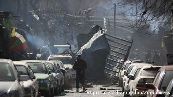 Afghanistan Explosion in Kabul (picture-alliance/dpa/Zumapress)