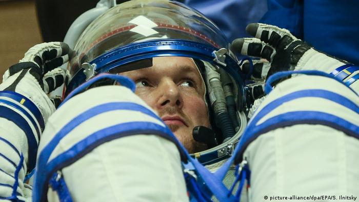 Astronaut Alexander Gerst (picture-alliance/dpa/EPA/S. Ilnitsky)