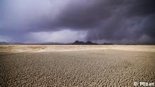 Iran Agh Gol Feuchtgebiete im Hamedan trocknen aus
