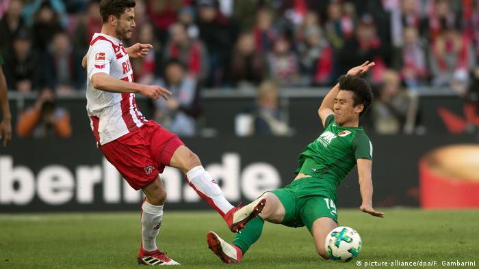 Fußball: Bundesliga 1. FC Köln - FC Augsburg