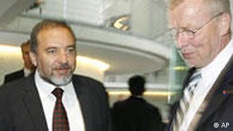 Deutschland Israel Außenminister Avigdor Lieberman in Berlin Bundestag