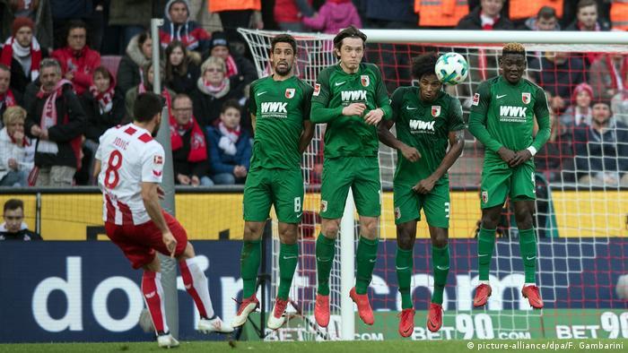 Fußball: Bundesliga 1. FC Köln - FC Augsburg (picture-alliance/dpa/F. Gambarini)