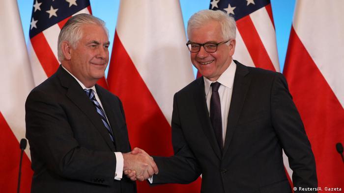 Polen | US-Außenminister Rex Tillerson trifft Polens Außenminister Jacek Czaputowicz (Reuters/A. Gazeta)