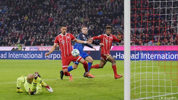 Fußball: Bundesliga - Bayern München vs TSG 1899 Hoffenheim 5.2 (Imago/MIS)