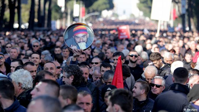 Anti-government protests in Albania