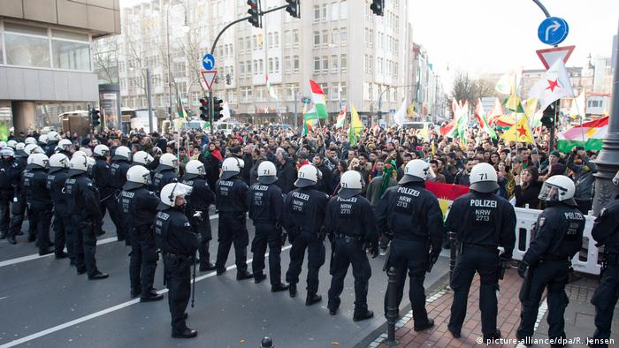 Köln Demonstration Heute