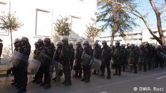 Albanien | Anti-Regierungsprosteste in Tirana (DW/A. Ruci)