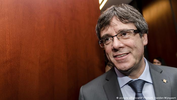 Belgien Brüssel Carles Puigdemont (picture-alliance/AP Photo/G. Vanden Wijngaert)