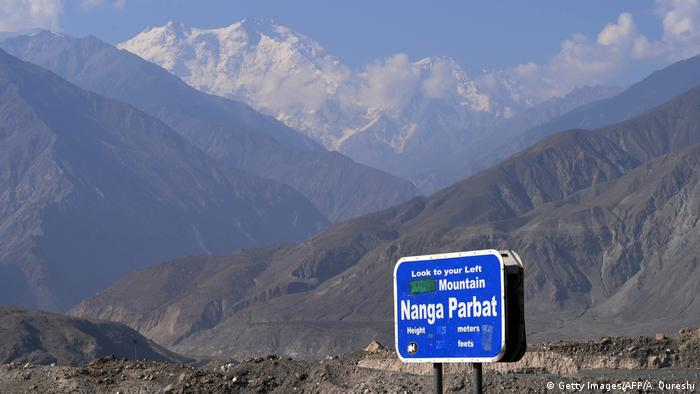 Nanga Parbat rises to 8,126 meters in Pakistan's northern area of Gilgit