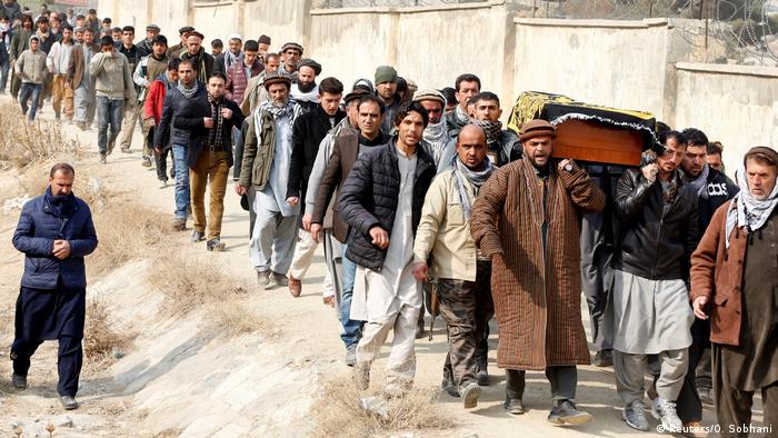 Funeral in Afghanistan Kabul (Reuters/O. Sobhani)