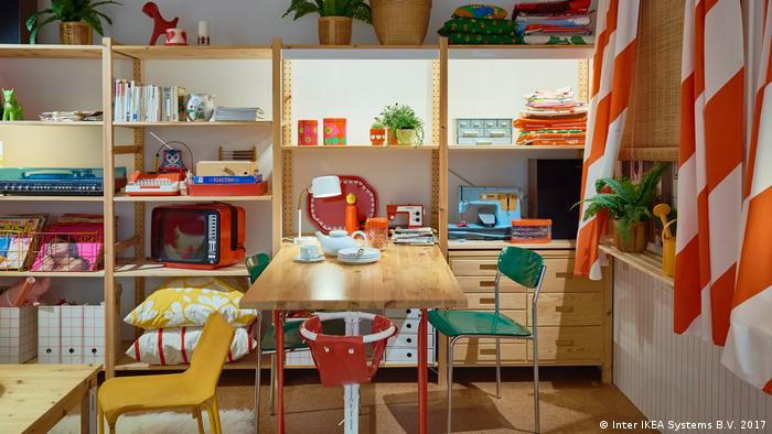 An IKEA collection from the 1970s