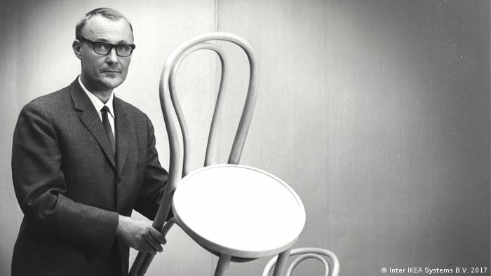 Ingvar Kamprad founded IKEA in 1943