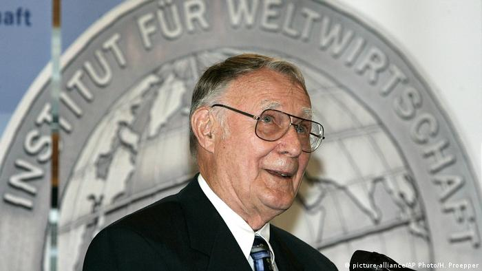 Ingvar Kamprad (picture-alliance/AP Photo/H. Proepper)