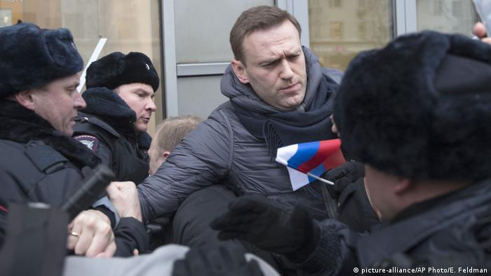 Alexei Navalny (picture-alliance/AP Photo/E. Feldman)