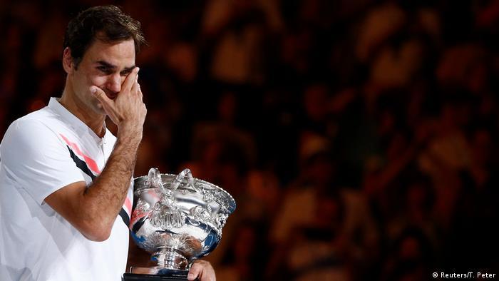 Tennis | Roger Federer gewinnt Australian Open (Reuters/T. Peter)