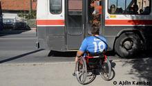 Jasmin Dzemidjic, Behinderter aus Sarajevo
