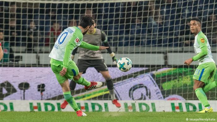 Fußball: 1. Bundesliga 20. Spieltag Hannover 96 - VfL Wolfsburg (Imago/Nordphoto)