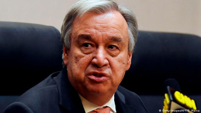 UN Secretary General Antonio Guterres (Getty Images/AFP/S. Maina)