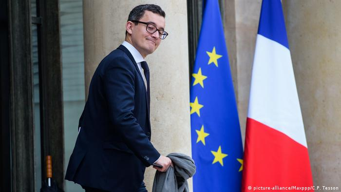 French Budget Minister Gerald Darmanin (picture-alliance/Maxppp/C.P. Tesson)