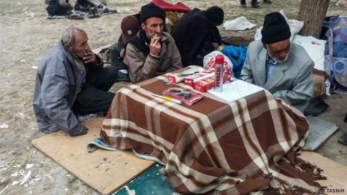 Iran Obdachlosigkeit in Teheran