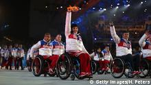 Russland Winter Paralympics 2014 russisches Team
