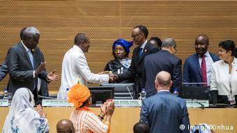 Gipfel Afrikanische Union in Addis Abeba (Imago/Xinhua)