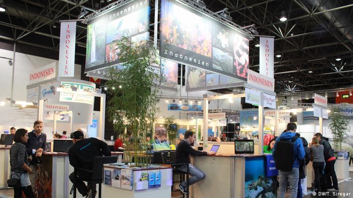 Wassersportmesse boot 2018 Düsseldorf | Aussteller aus Indonesien (DW/T. Siregar)