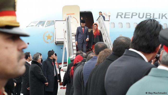Afghanistan Besuch Joko Widodo, Präsident Indonesien (Bey Machmudin)