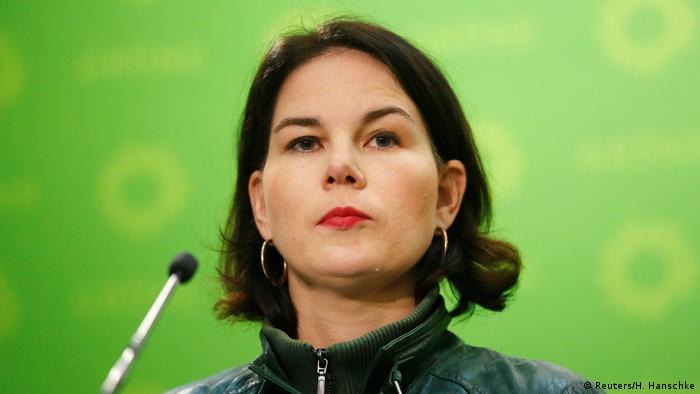 Annalena Baerbock, the leader of Germany's Green party (Reuters/H. Hanschke)