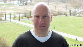 Guillain-Barré-Syndrom   Carsten Kolberg auf dem Wege der Genesung (DW/F. Schmidt)
