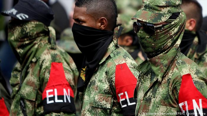 Kolumbien ELN-Rebellen (picture-alliance/dpa/EFE/C. Escobar Mora)
