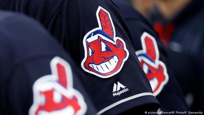 Cleveland Indians Chief Wahoo logo (picture-alliance/AP Photo/P. Semansky)