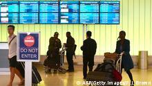 Symbolbild Einreisebann USA