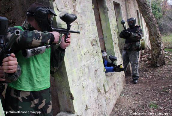 Bildergalerie Paintball 7