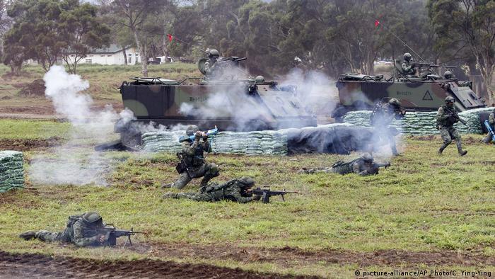 Taiwan Militärübung