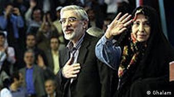 زهرا رهنورد و فاطمه کروبی به همراه همسران خود بازدشت شدهاند. رهرا رهنورد در کنار همسرش، میرحسین موسوی