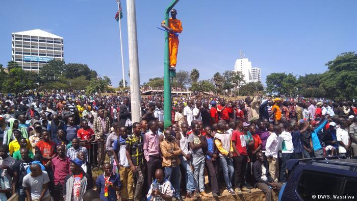 Kenia Vereidigung von Raila Odinga in Uhuru Park in Nairobi