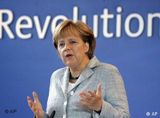 Angela Merkel speaking