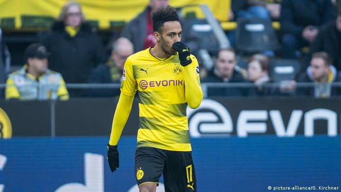 Pierre-Emerick Aubameyang (picture-alliance/G. Kirchner)